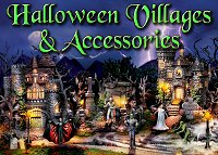 Click to go to the Halloween Villages and Accessories Buyer's Guide.