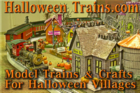 Halloween Trains has crafts, building projects, stories, and trains to give you a fun halloween.  Click to go to the site.