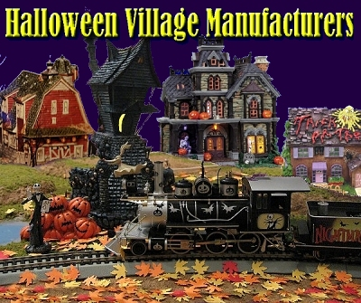 Halloween Village Manufacturers