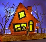 click to see the 'Frost is on the Pumpkin' house project