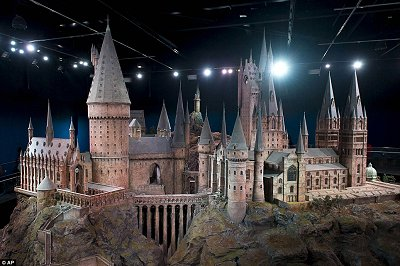 Click to see the Daily Mail's article about the huge model of Hogwarts that was used for every Harry Potter movie.