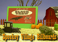 Click for free plans, graphics, and instructions to help you build billboards for Spook Hill.