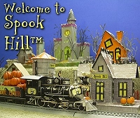 Click to see the free, downloadable Spook Hill™ Halloween village building and accessory projects.